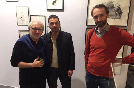 Salon du dessin contemporain, cadres Atelier Mondineu