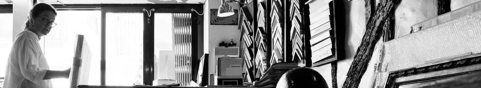 Sophie Mondineu, atelier d'encadrement Mondineu