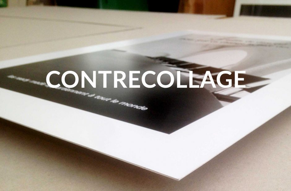 Contrecollage