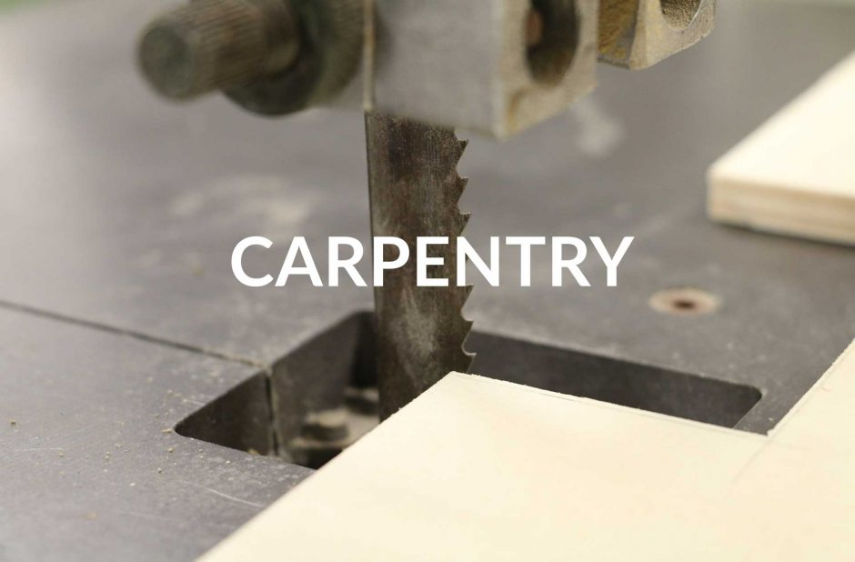 Carpentry - woodworking