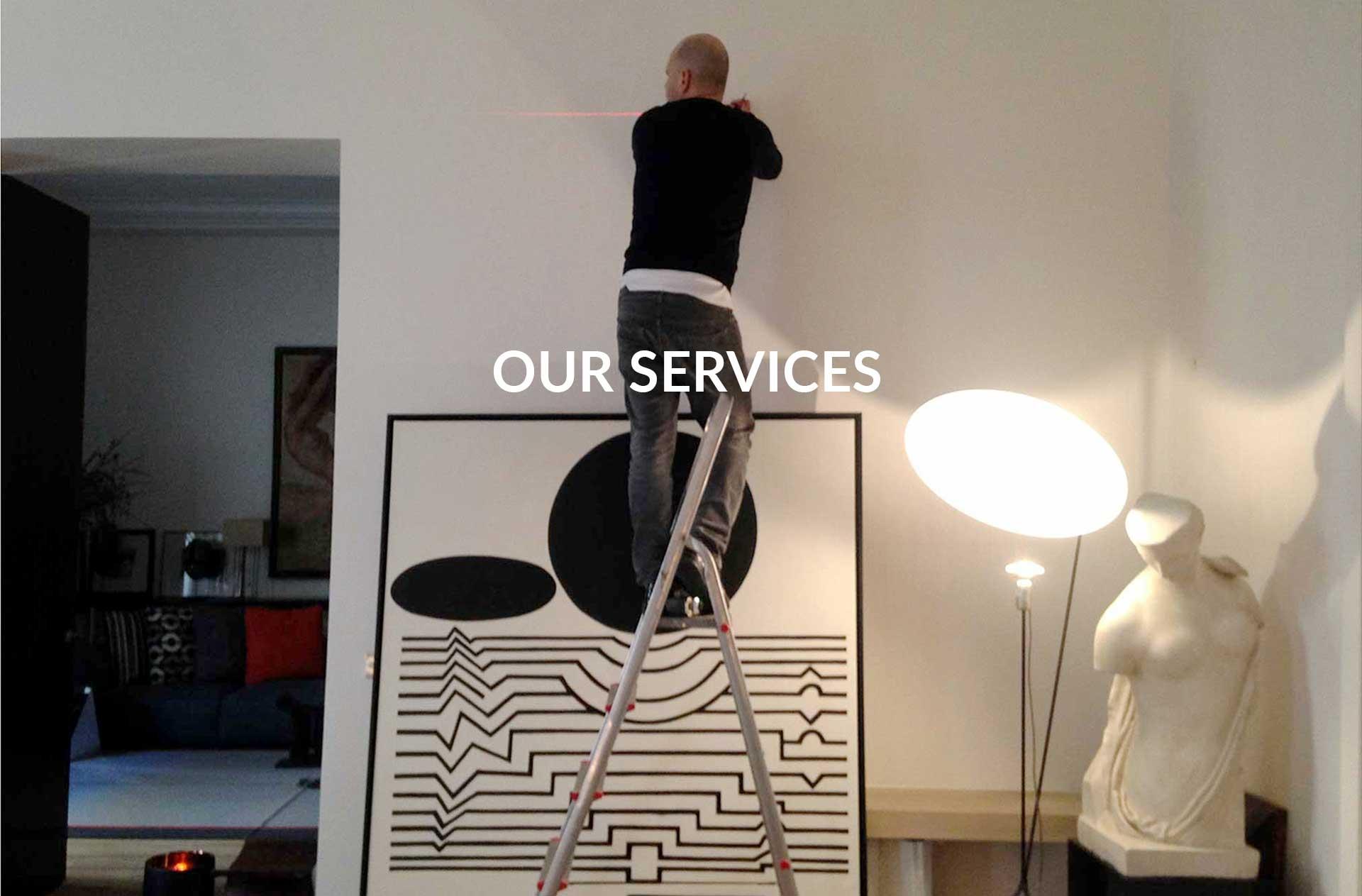 Our framemaker workshop extra services