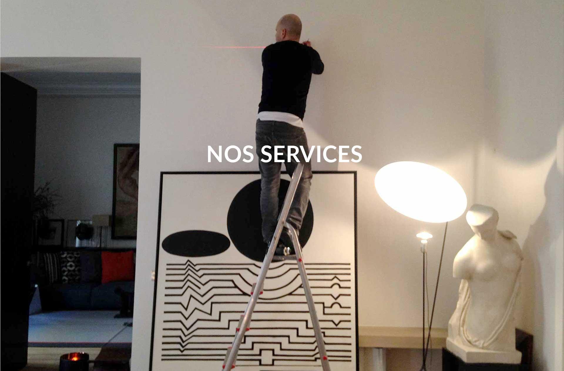 nos services d'atelier d'encadrement
